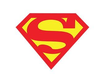 superman logo etsy rh etsy com create your own superman logo online create your own superman logo