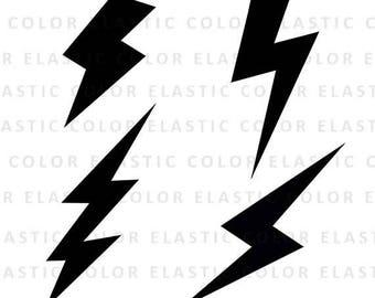 lightning bolt etsy