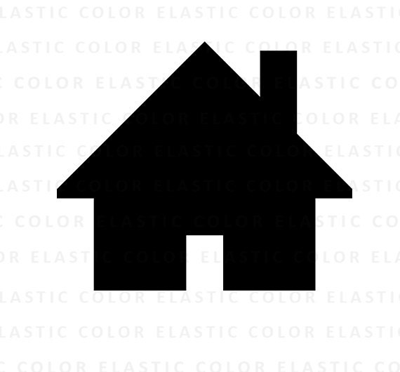 House Svg File House Icon Home Icon House Clipart Etsy