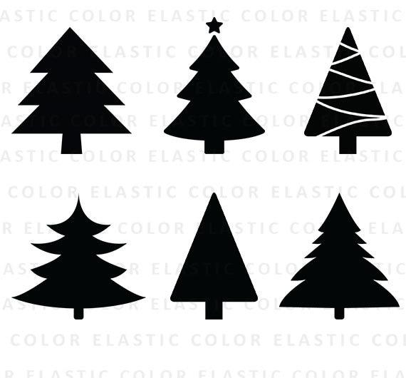 Weihnachtsbaum Svg Weihnachtsbaum Clipart Christbaum Cut Etsy