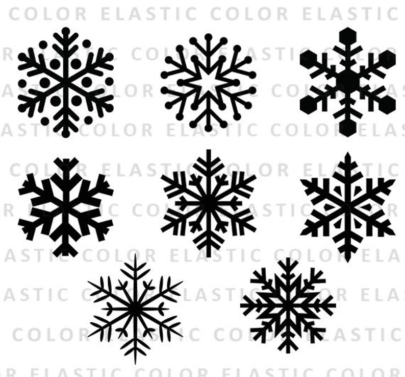 Snowflake svg  snowflake clipart snowflake silhouette and image 0