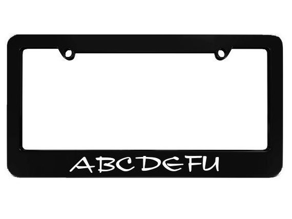 I/'D RATHER BE DOING GYMNASTICS License Plate Frame