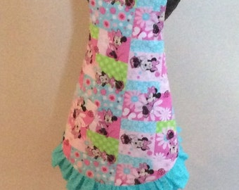 Minnie Mouse Child's Reversible Apron