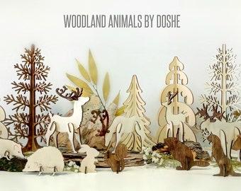 WOODLAND ANIMALS Nursery Decor - Baby shower gift