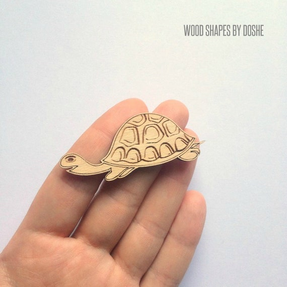 SEA TURTLE Ornament Cutouts Laser cut wood shapes