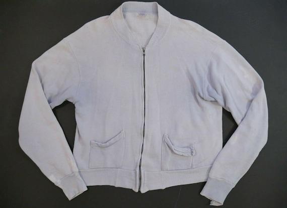 Brent Full Zip Vintage 50s Sweatshirt Separate Poc