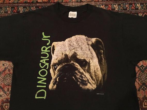 Vintage T Shirt Dinosaur JR 1992 Bulldog Sonic You