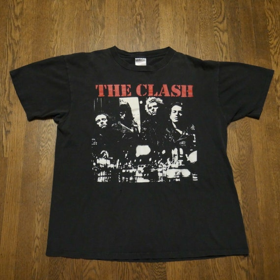 The Clash Vintage T-Shirt Oneita XL The Only Band… - image 2