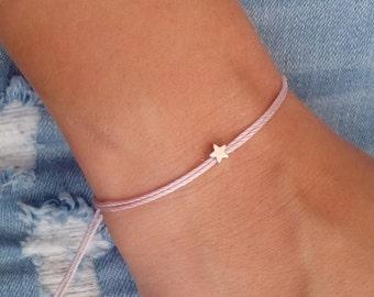 Star bracelet, Silver bracelet, Everyday bracelet, Gift jewelry