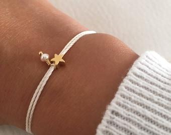 Christmas gift, Tiny star bracelet, Gift jewelry, Friendship bracelet
