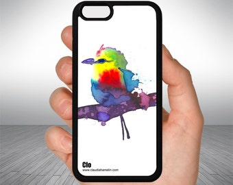 """Colorful feathers"" cell phone case"