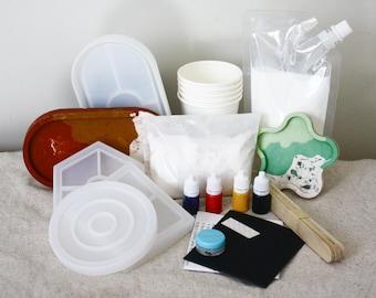 Jesmonite Terrazzo Resin Kit, Coaster or Tray | Standard AC100