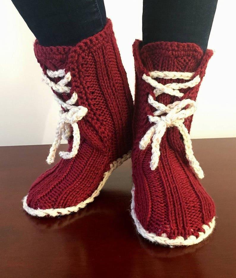 28e00e1dc9b78 Exclusive!!! Girl Socks-Slippers Booties Style,Hand Knitted Women  Socks,Kids Socks,Winter Slippers,Baby Booties,Gift Box,Handmade,UK Seller
