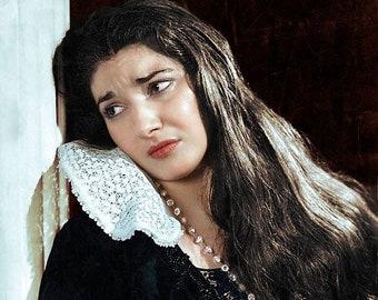 Maria Callas from  I Puritani in 1951