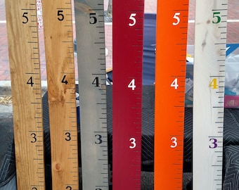 Growth Chart Ruler, Personalized Growth Chart, Custom Growth Chart, Kids Measuring Stick, Baby Gift, Height Chart Ruler, Baby Gift