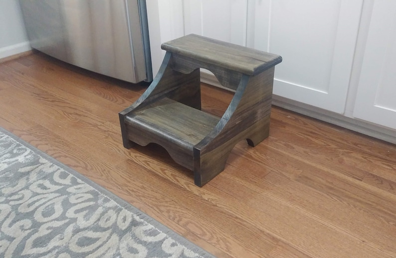 Miraculous Large Step Stool The Dover Wood Step Stool Kitchen Step Stool Bathroom Step Stool Bed Step Stool Kids Step Stool 2 Step Stool Sturdy Caraccident5 Cool Chair Designs And Ideas Caraccident5Info