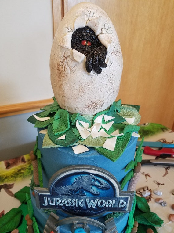 Jurassic Park Birthday Cakes Cake Recipe