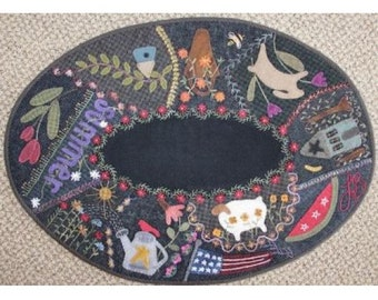 Summer Crazy Table Mat