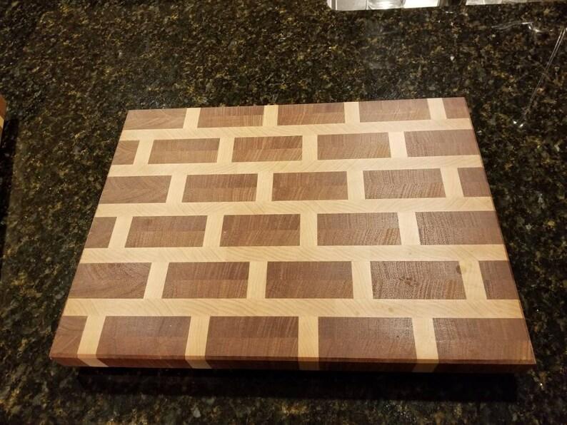 Brick End Grain Cutting Board