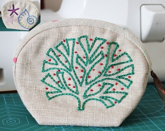 Handmade Embroidery Coin Change Purse Change Purse Beauty Case Cosmetic Bag  1624