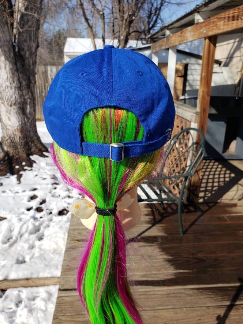 Ladies New Royal Blue EMS BLING Hat