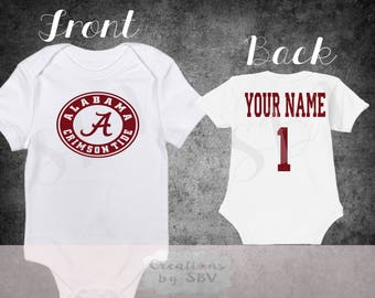 Alabama Crimson Tide I Love Watching With Mommy Kids Toddler T-Shirt