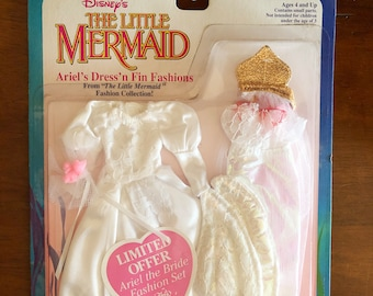 The Little Mermaid Wedding Gown, Limited Offer, MOC, Tyco, Disney