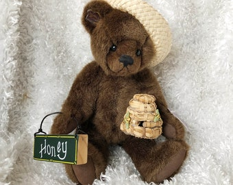 Bears Supply Annette Funicello Angel Collection Luna Ivory Plush Bear Street Price Dolls & Bears