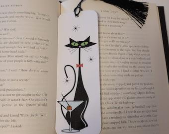 Atomic Martini Cat  Bookmark