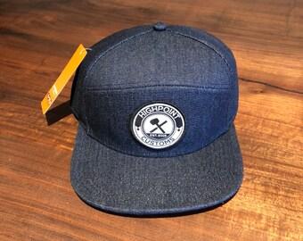 Blue Denim Hat