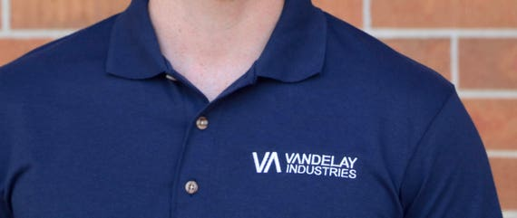 Vandelay Industries Seinfeld Embroidered Polo Shirt 100