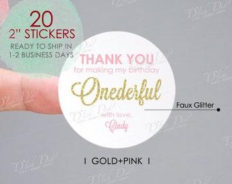 dd581f0fc2fc5 Thank you stickers | Etsy