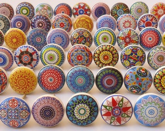 Image result for Ceramic furniture knobs