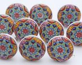 Colorful Ceramic Knobs Beautiful Ceramic Door Knobs Kitchen Cabinet Drawer Pulls