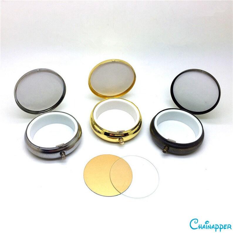 5d02541d5a5 5pcs lot 5cm 2 mini box DIY kit design for pill or