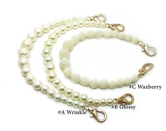 32cm / 12 inches artificial beads handle for clutch & purse, Size 8mm to 14mm,  PC01