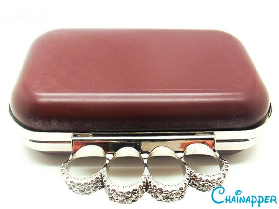 kisslock closure 16cm x 15cm 6 x 6 M89C heart box clutch frame with plastic covers and chain
