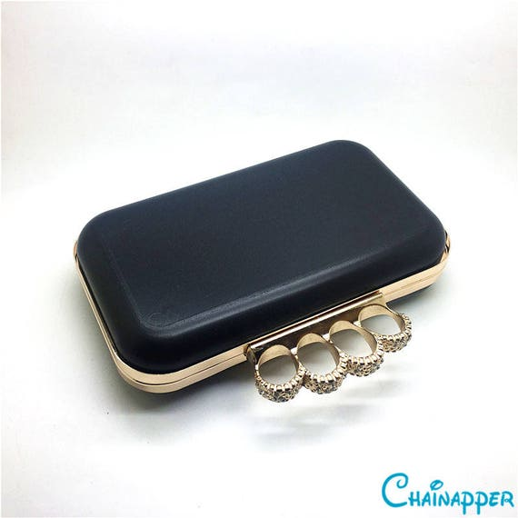 8 x 4 box clutch frame with plastic covers for clutch designer XL42B 20 x 11cm iphone7