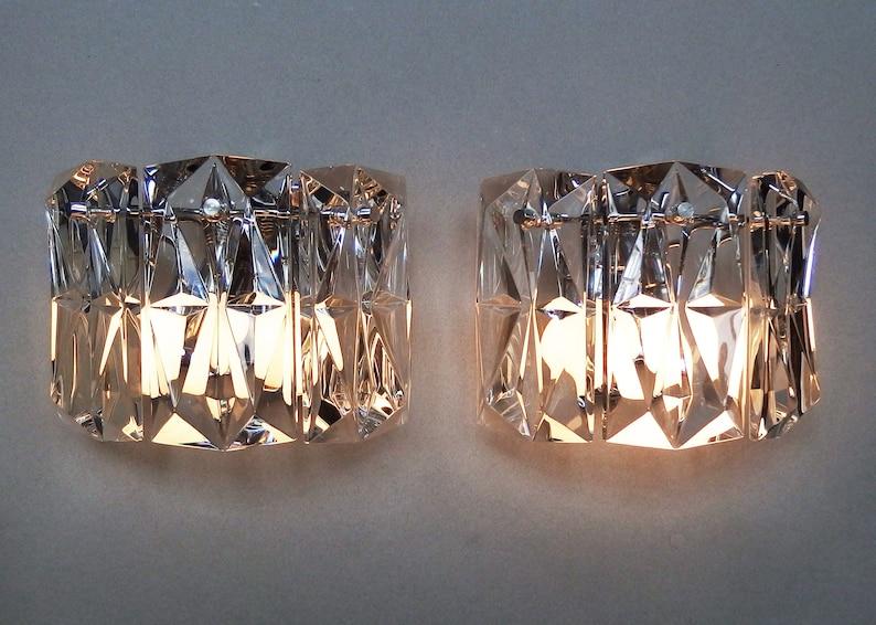 Coppia elegante degli anni  70 kinkeldey leuchten etsy