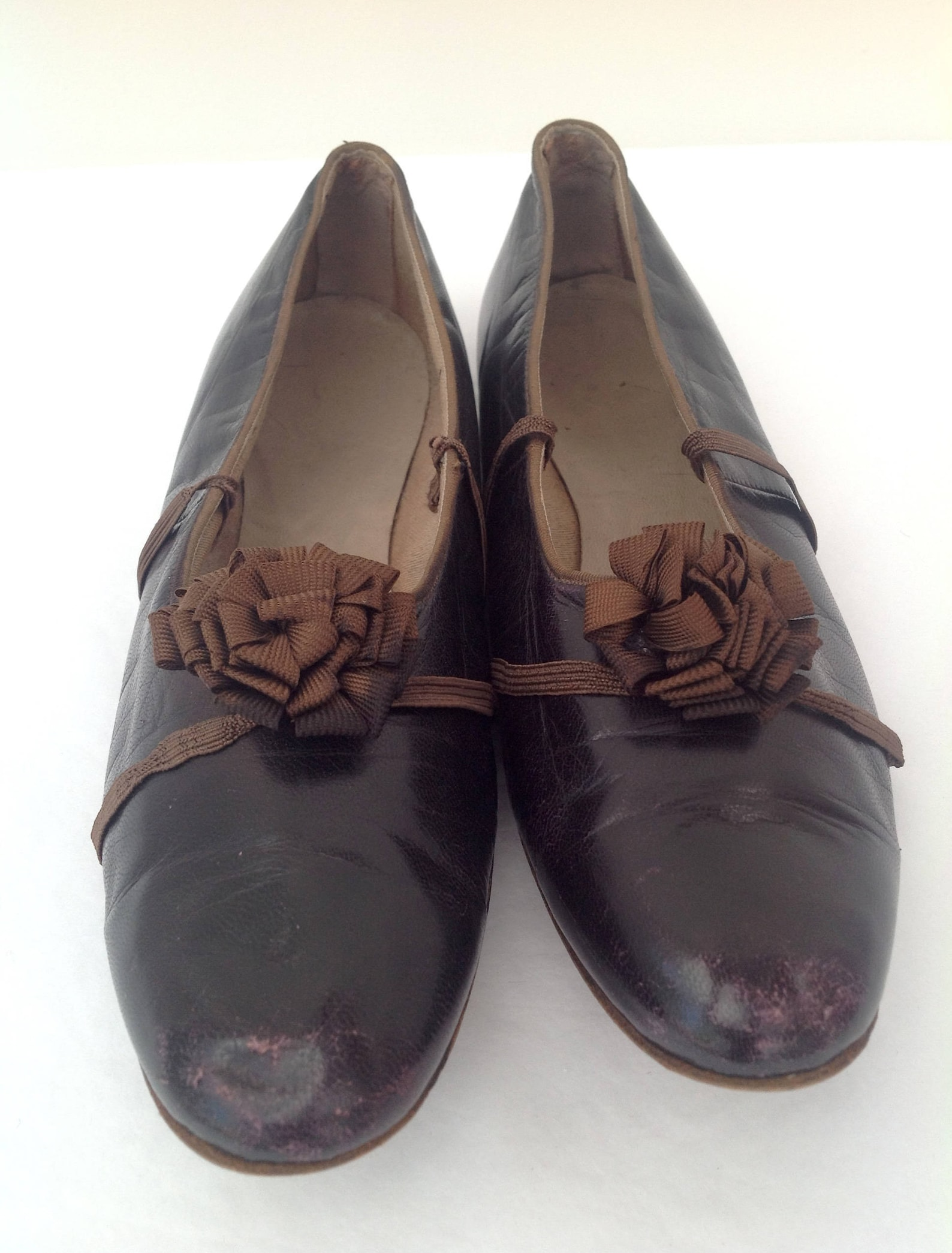 1920s shoes ballerina ballet style by clarks vintage antique