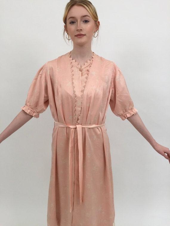 1920s silk robe vintage antique