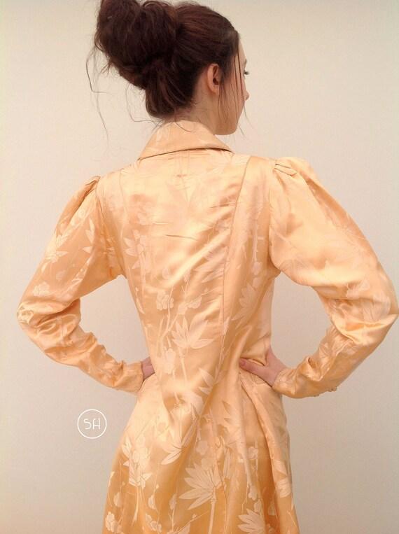 Beautful 1930s Chinese silk jacket coat handmade - image 5