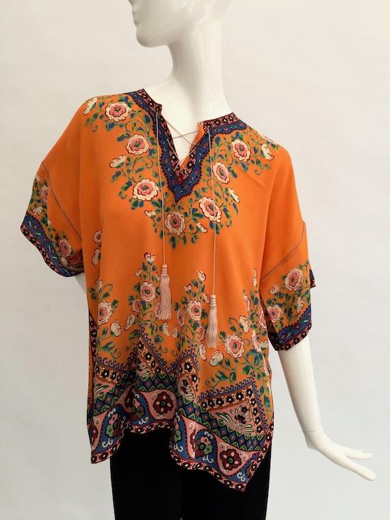 1920s beach pyjamas silk vintage antique Japanese