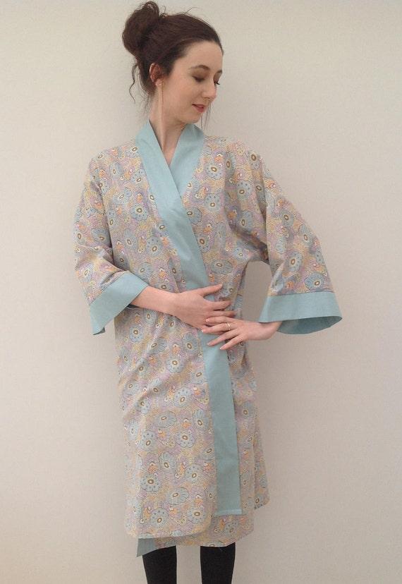 1920s kimono dressing gown with Art Deco print vin