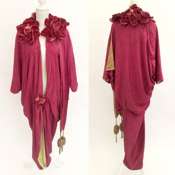 Rare antique couture opera coat Edwardian 1910s vi