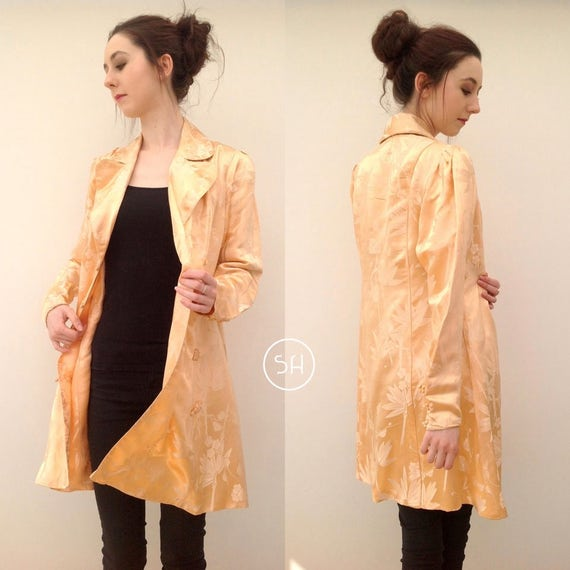 Beautful 1930s Chinese silk jacket coat handmade - image 2