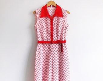 70s Vintage Summer Dress