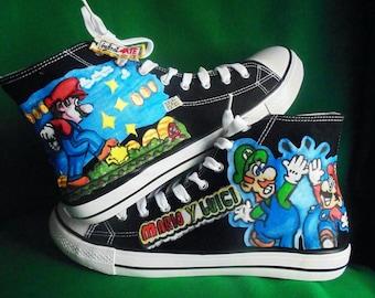 Super Mario & Luigi Shoes