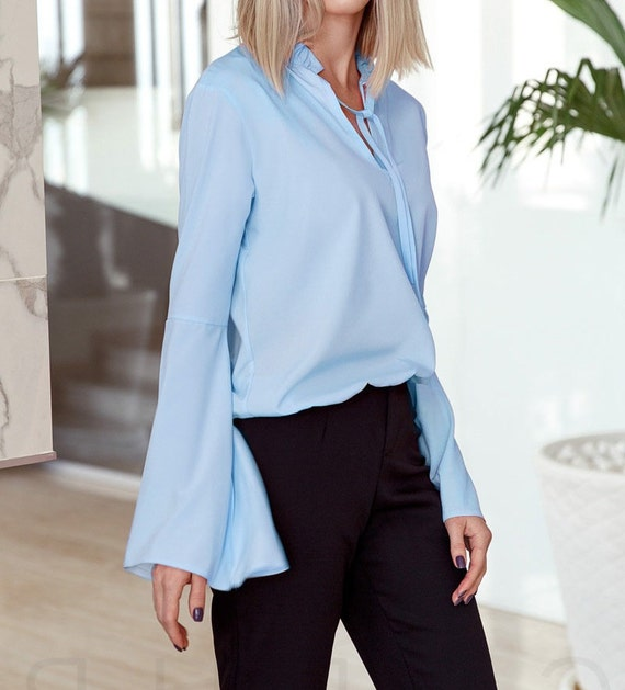 Cotton blouse for women casual wear
