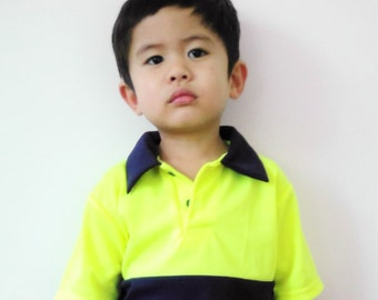 Mini Hi Vis Polo Shirt